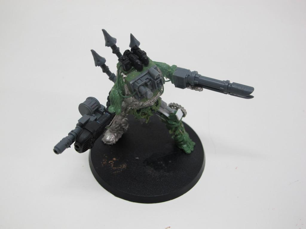 Chaos Space Marines, Greenstuff, Nurgle, Obliterators, Plague Marines