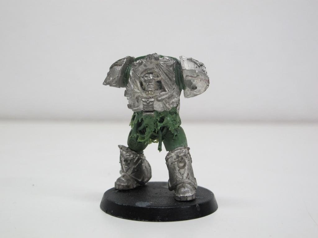 Chaos Space Marines, Death Guard, Greenstuff, Nurgle, Plague Marines, Terminator Armor