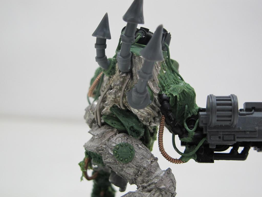 Chaos Space Marines, Death Guard, Greenstuff, Nurgle, Obliterators, Plague Marines, Plasma