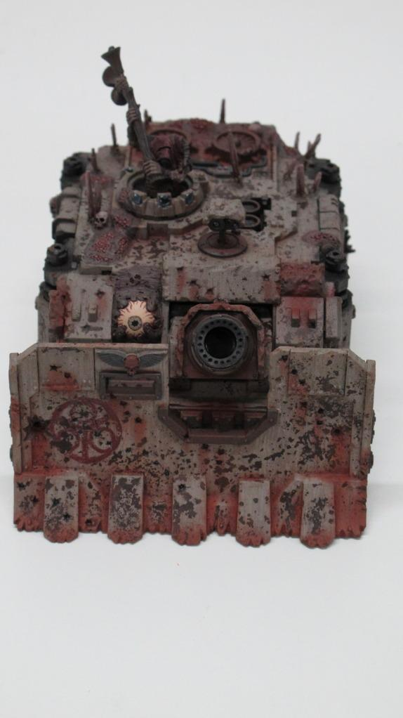 Chaos Space Marines, Daemons, Death Guard, Lords Of Decay, Nurgle, Plague Marines, Tank, Vindicator