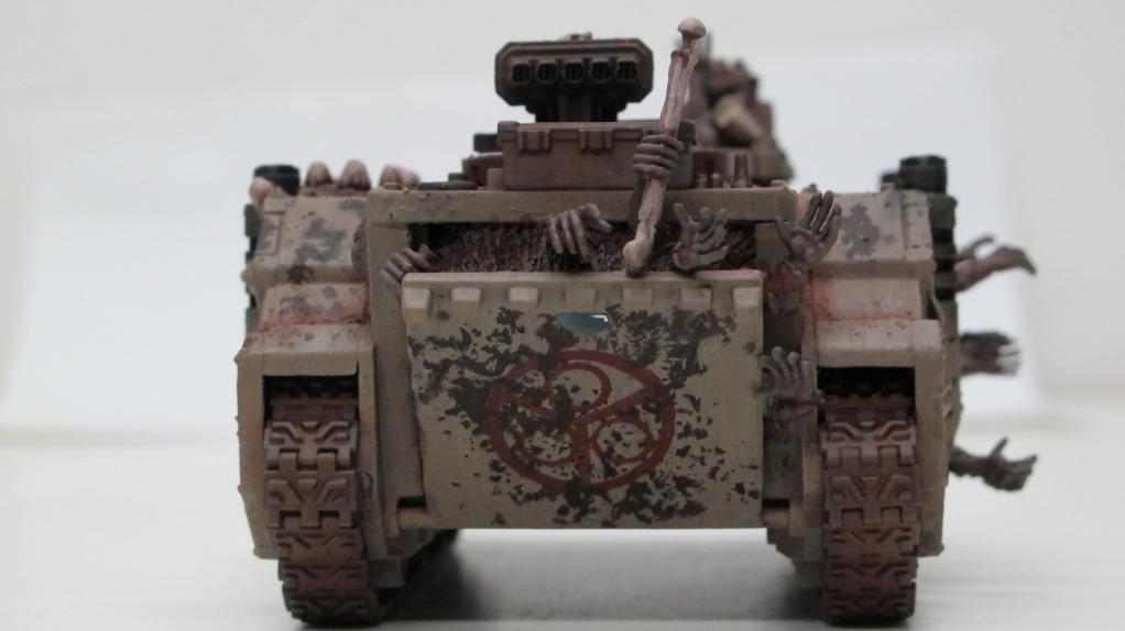 Chaos Space Marines, Death Guard, Havoc, Lords Of Decay, Nurgle, Plague Marines, Rhino, Tank