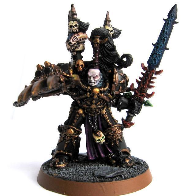 Abaddon, Abaddon The Despoiler, Chaos Lord, Warhammer 40,000