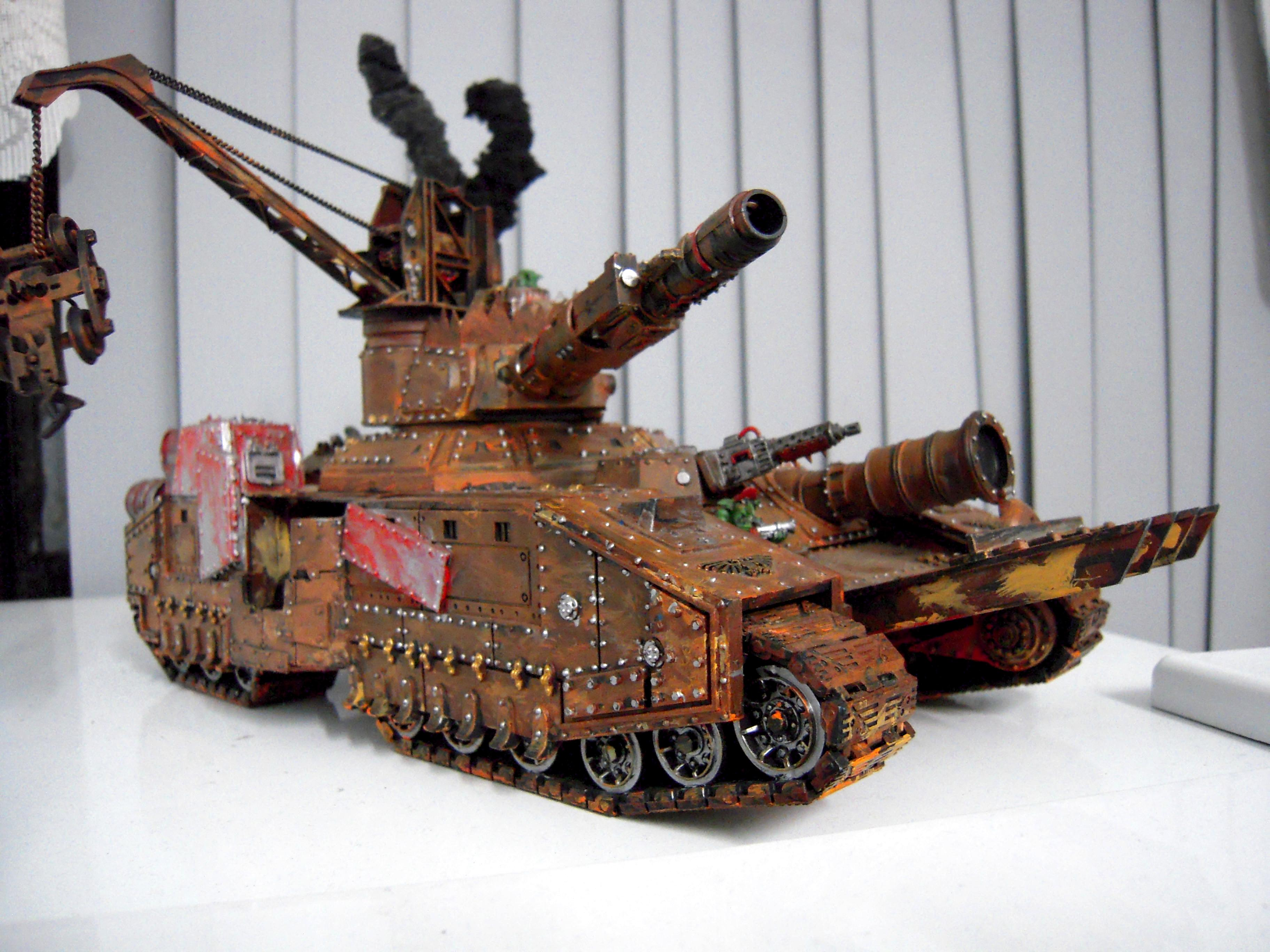 Apocalypse, Baneblade, Conversion, Engine, Freaks, Freakz, Freekz, Heavy, Looted, Massive, Orks, Ramming Spikes, Reinforced Ram, Rokkit, Skullhammer, Speed, Super, Super-heavy, Tank, Turbo, Warhammer 40,000, Wrecking Ball