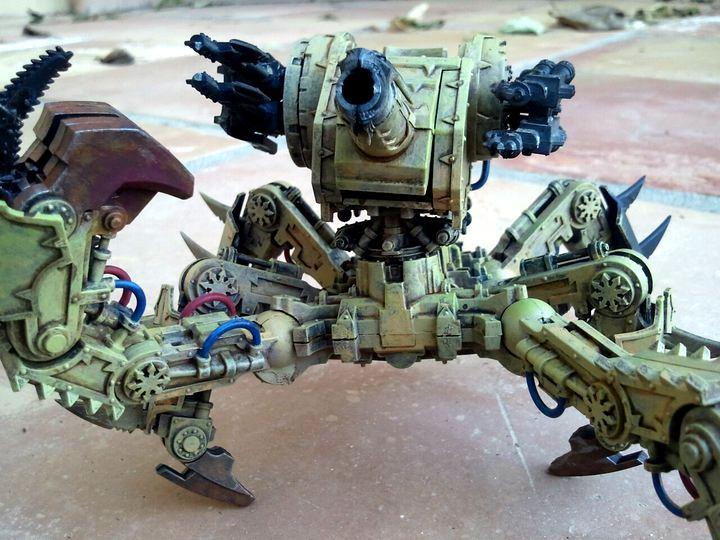 Chaos, Chaos Space Marines, Defiler, Nurgle