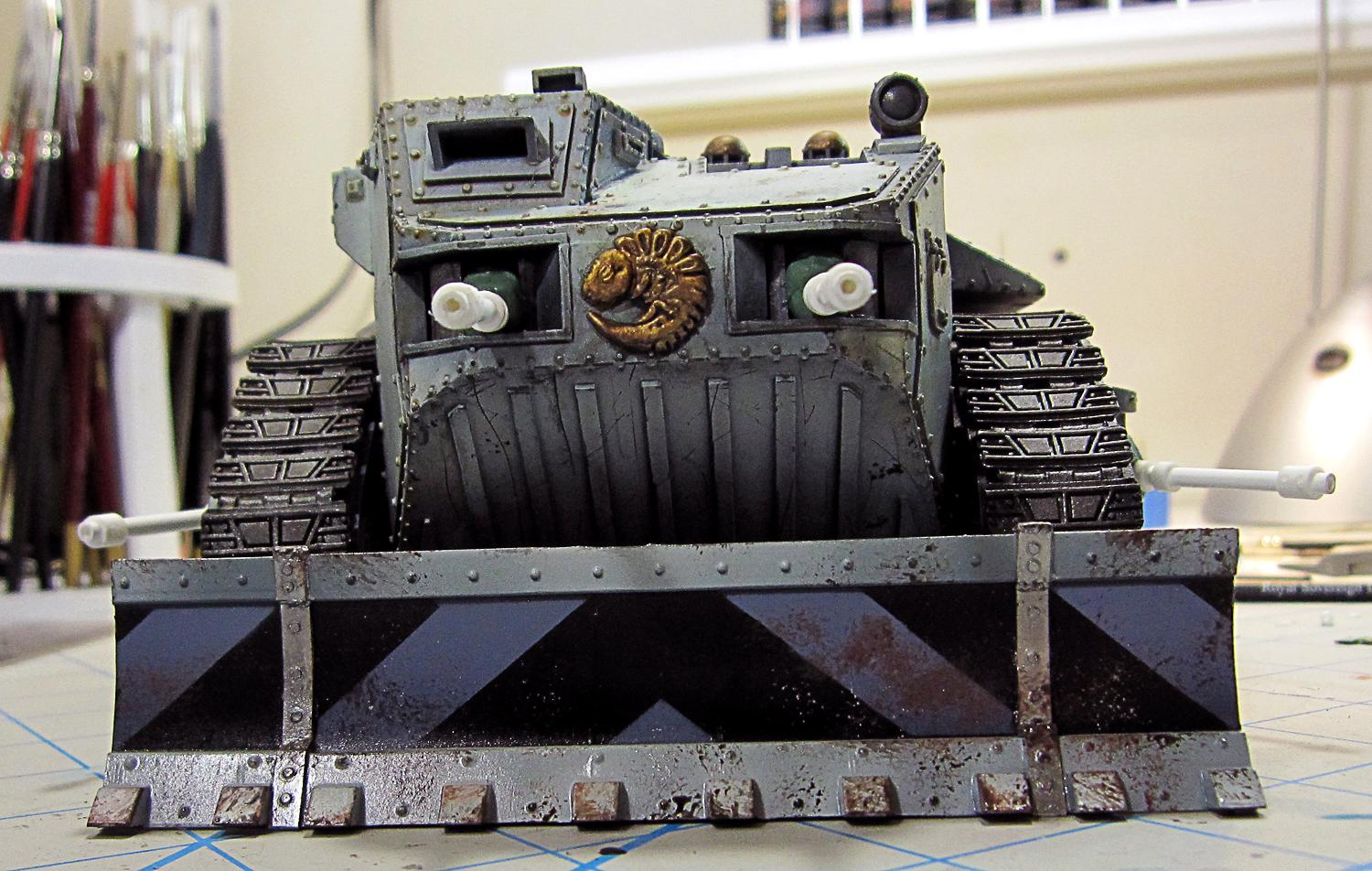 Crassus Assault Transport, Cult, Genestealer, Hybrid, Limo
