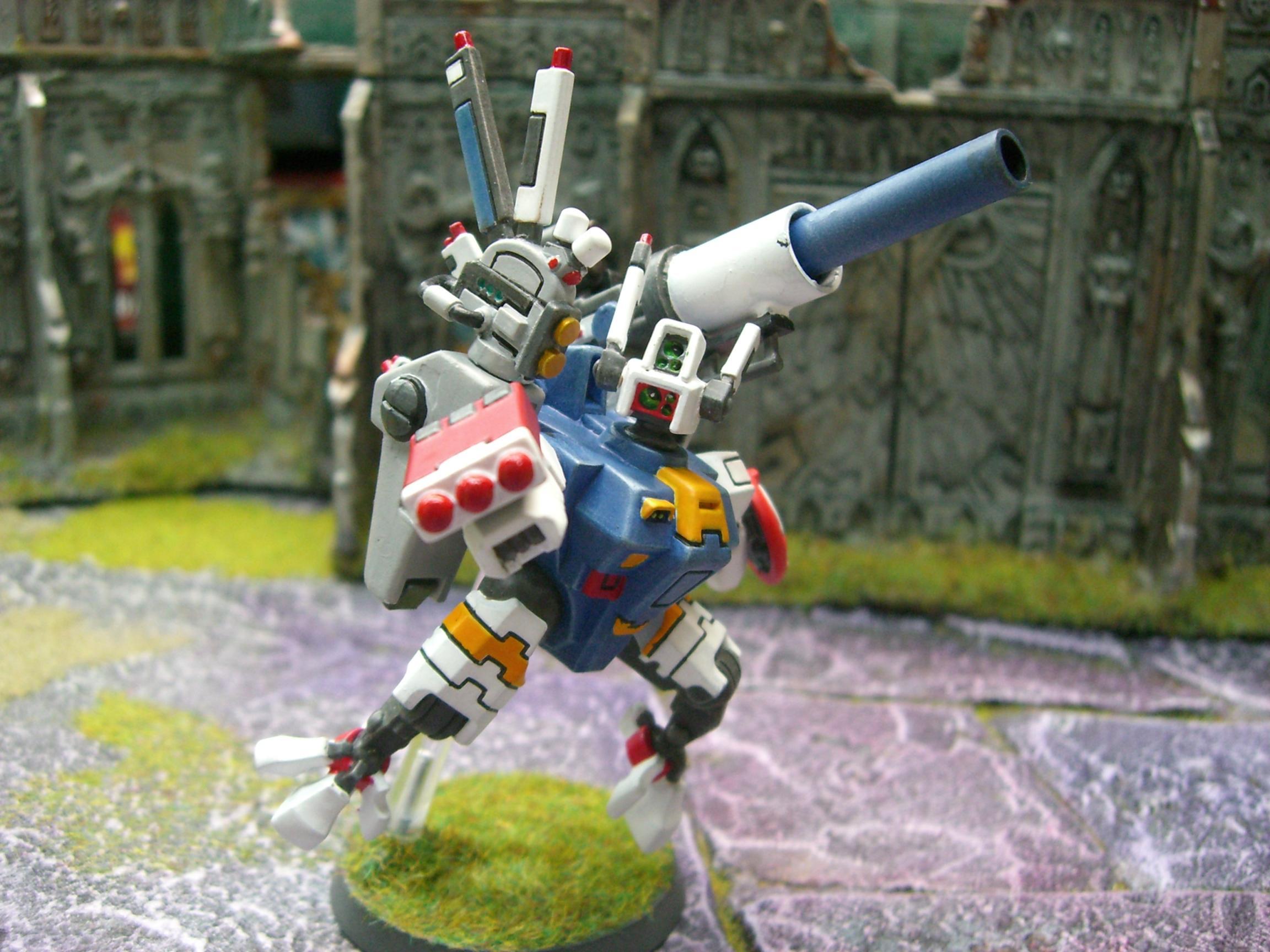 Gundam, Tau, Tau Crisis Suit Gun Drone Gundam Broadside