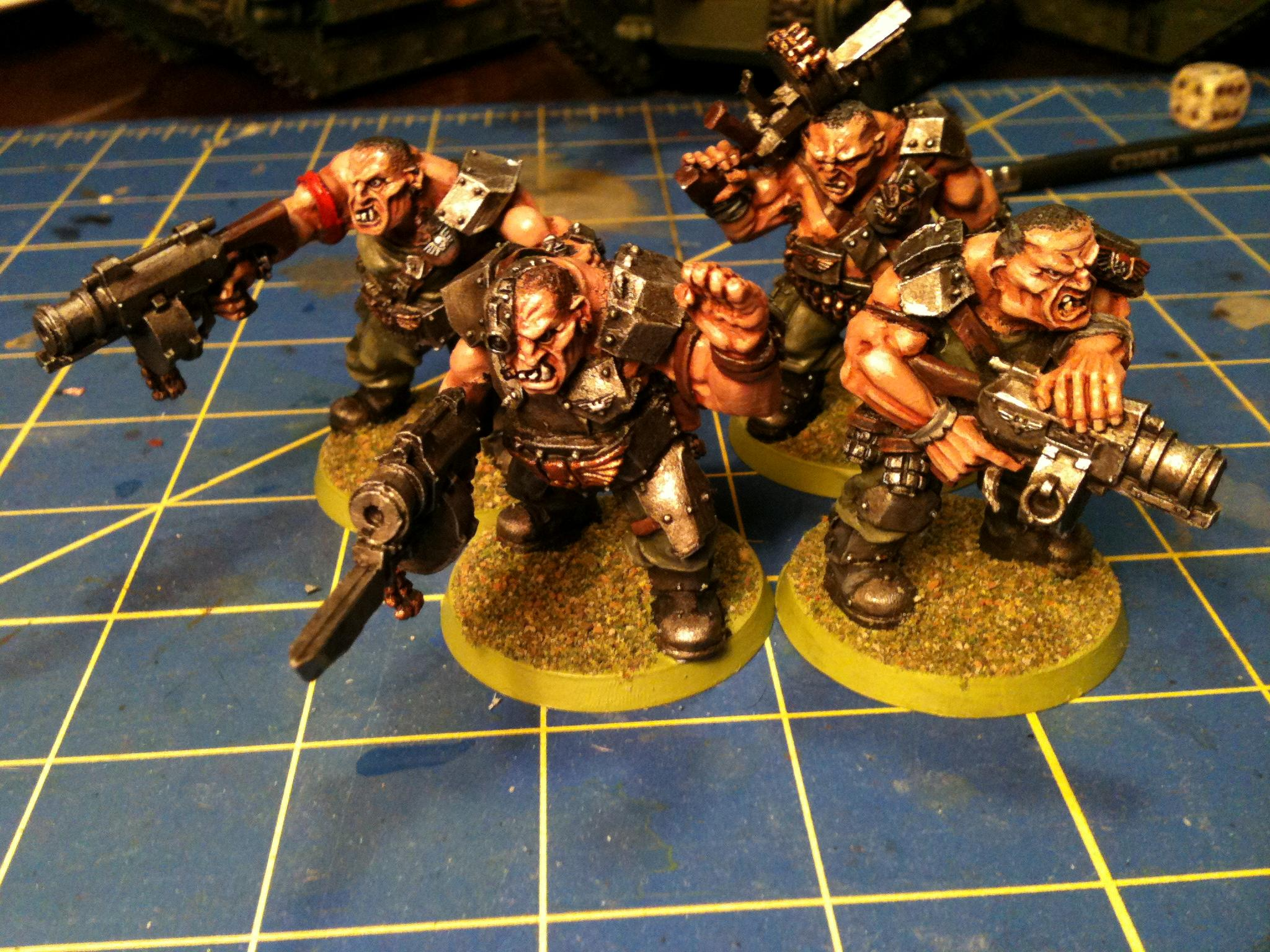 Catachan, Guard, Imperial, Imperial Guard, Ogryns