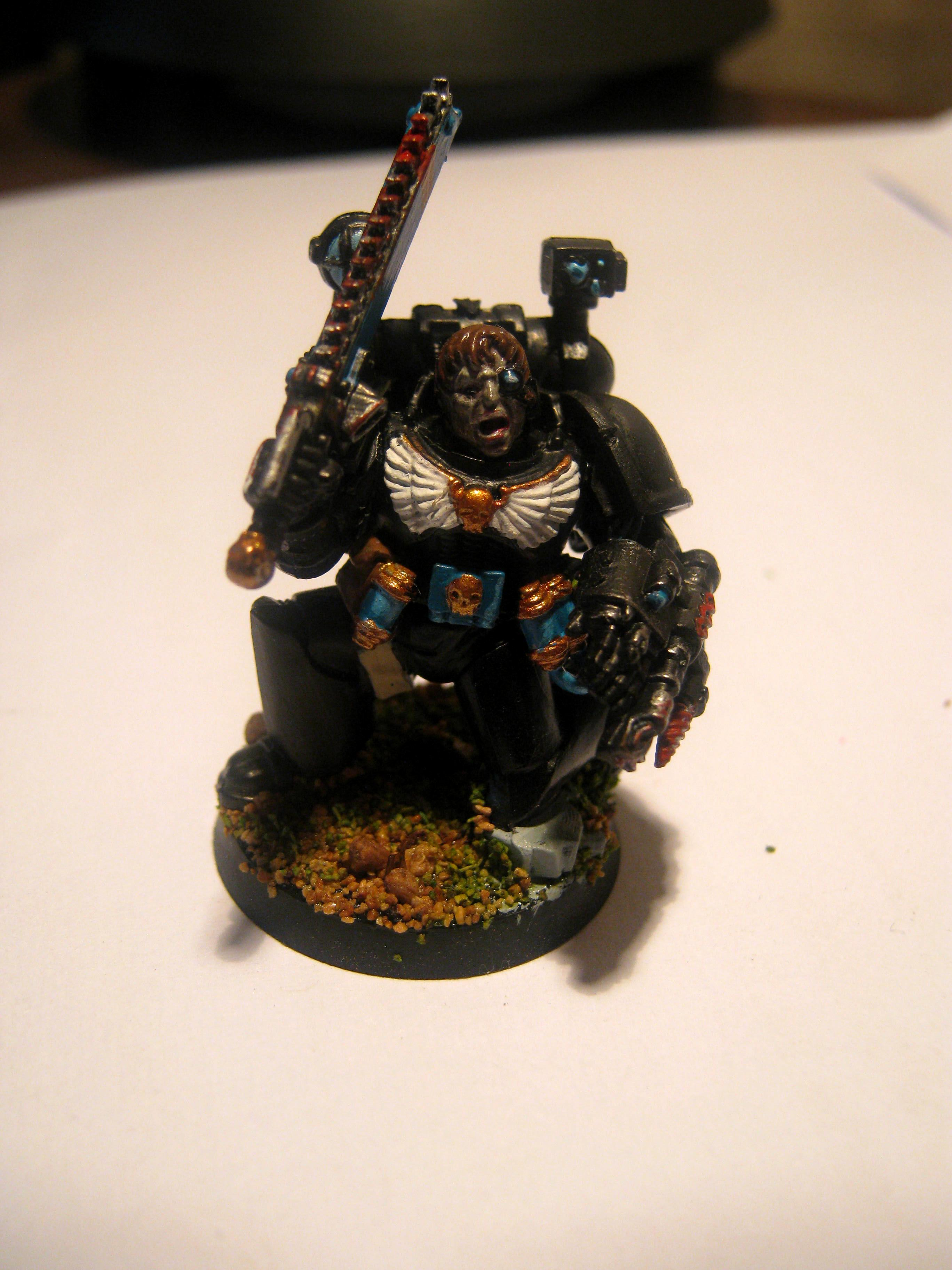 Apothecary, Raven Guard, Space Marines, Warhammer 40,000
