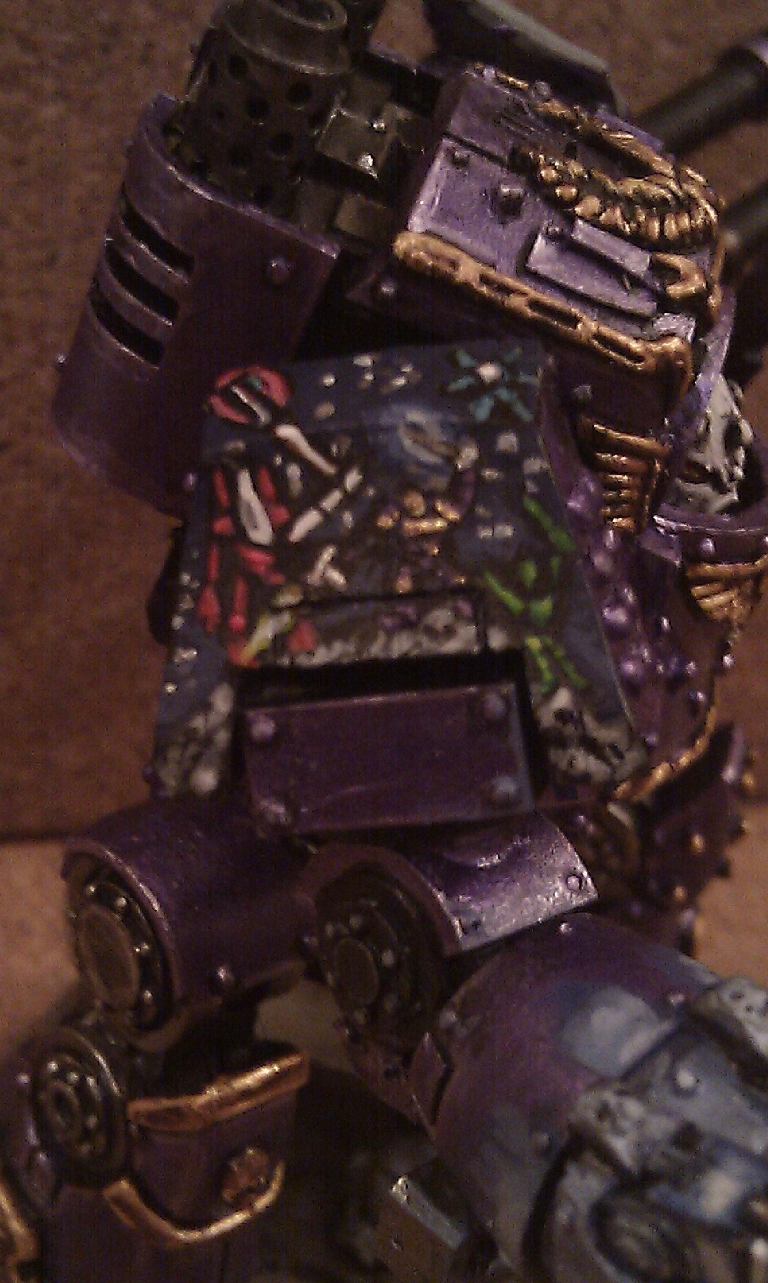 Dreadnought, Free-hand, Space Marines