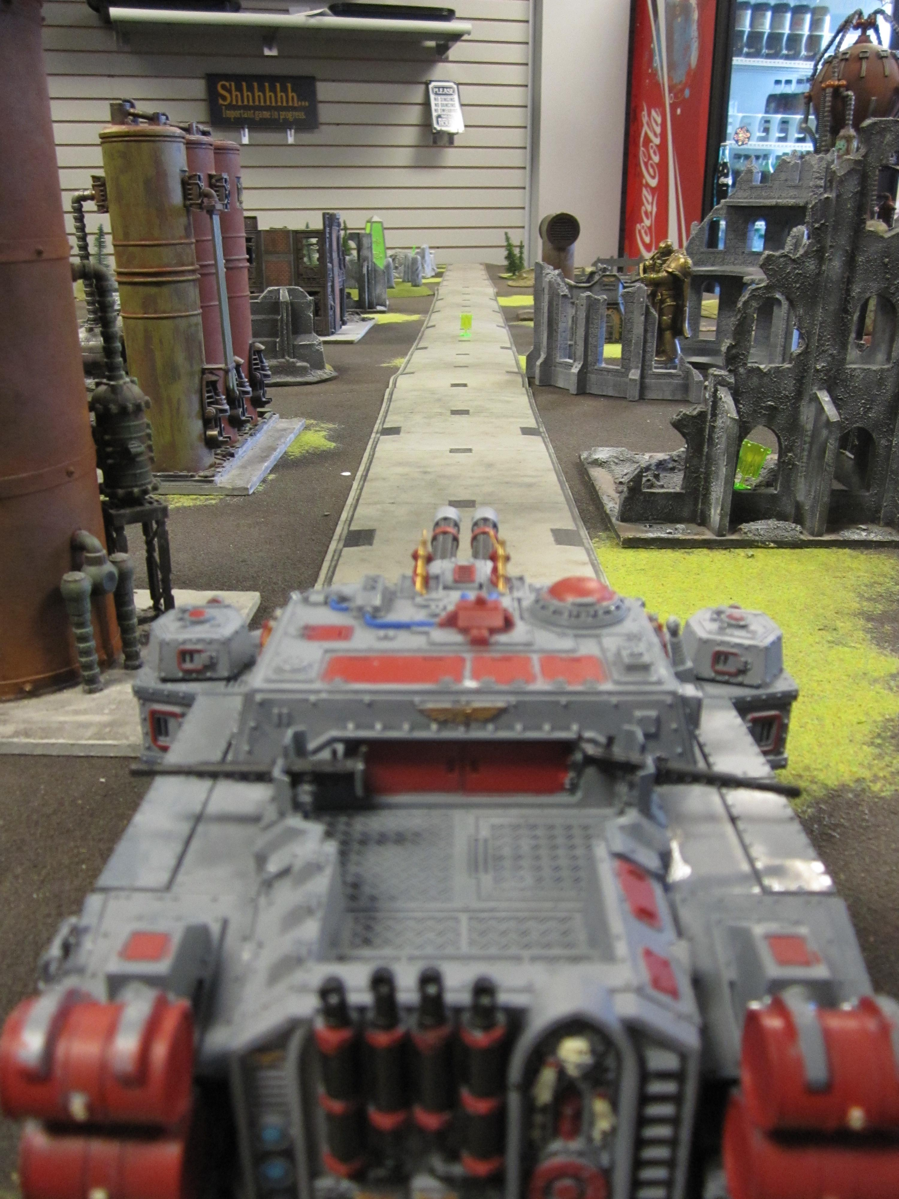 Apocalypse, Imperial Guard, Road, Storm Lord
