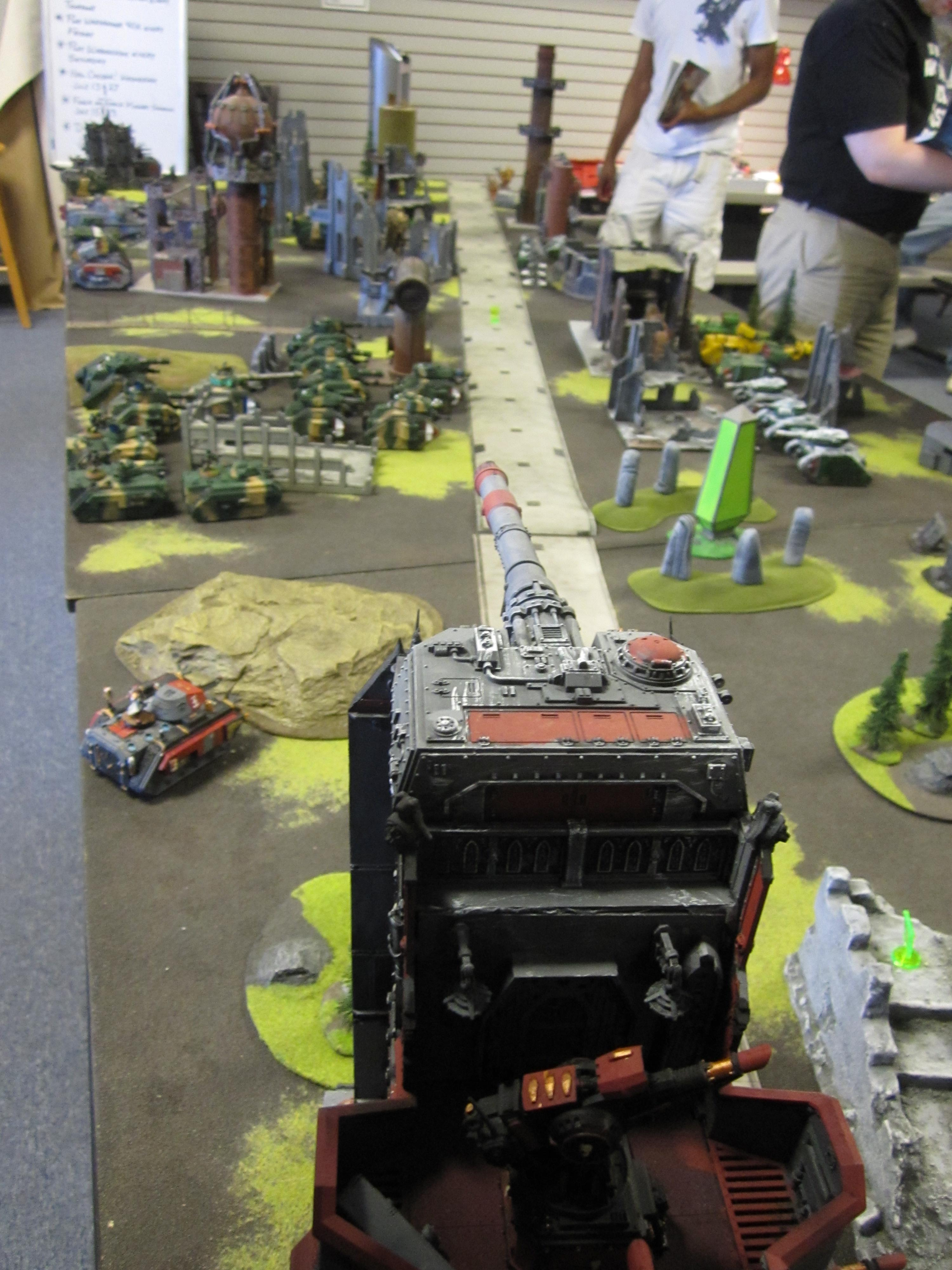 Apocalypse, Battle Report, Imperial Guard, Leviathan, Road