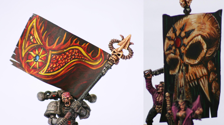 Banner, Chaos, Warhammer Fantasy