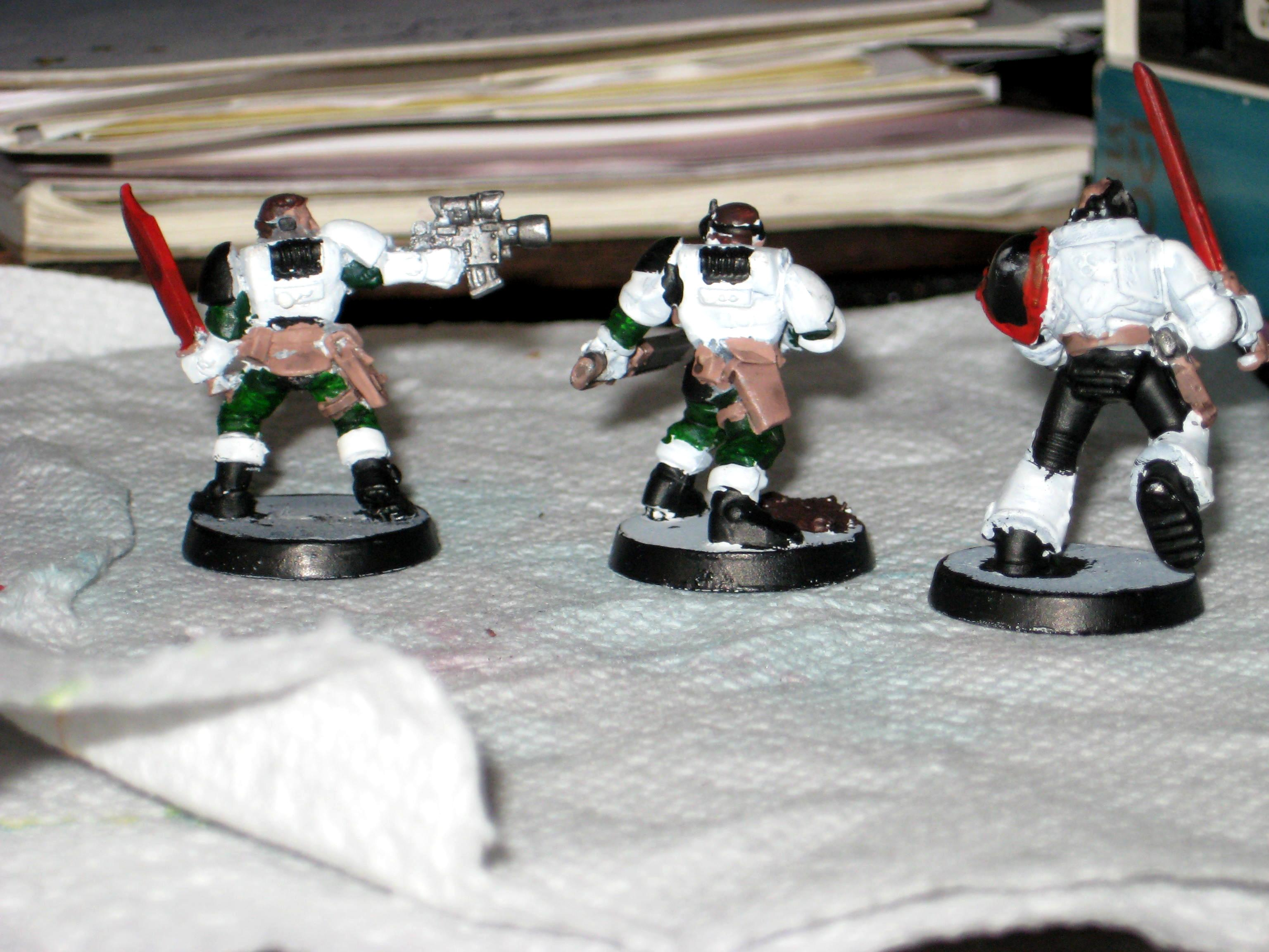 Base Coat, Scouts, Space Marines