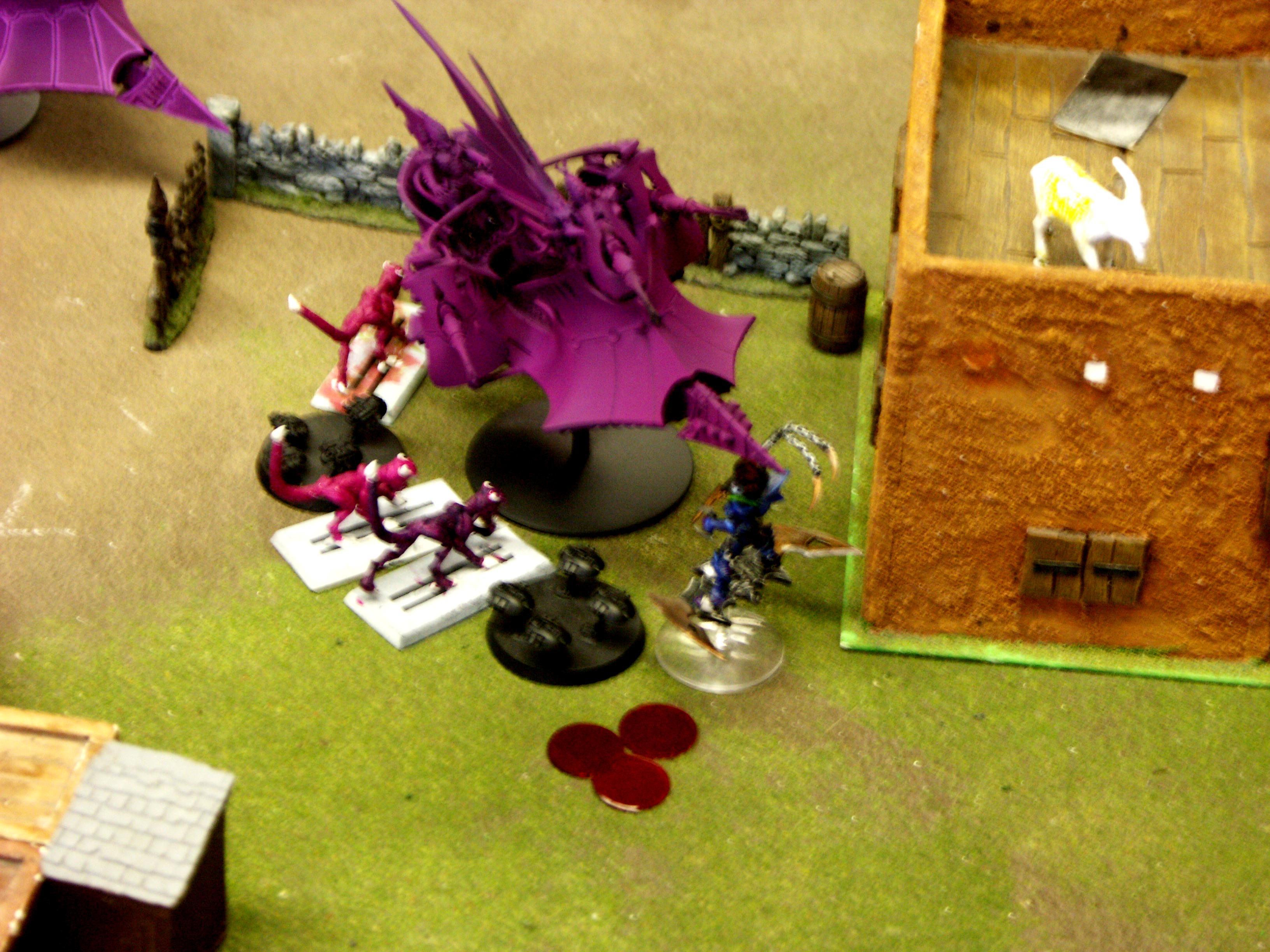 Battle Report, Dark, De, Eldar