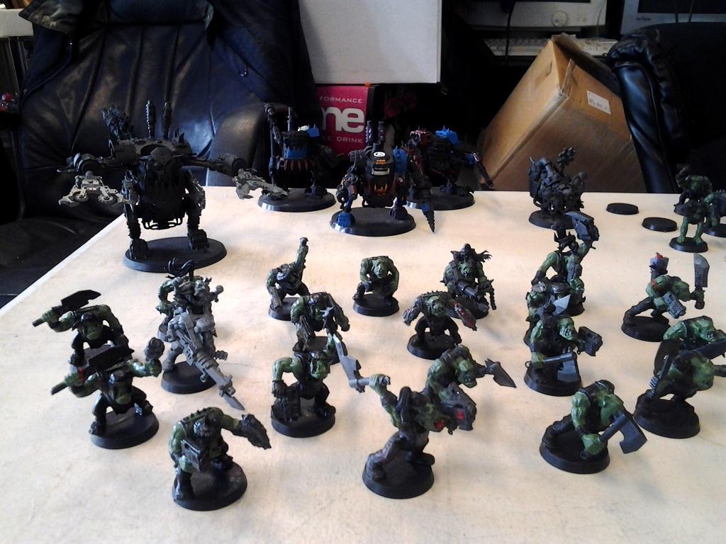 Orks, Work In Progress