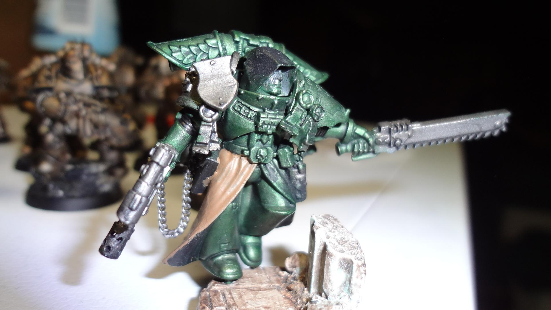 Grey Knights, Sculpting, Space Marines