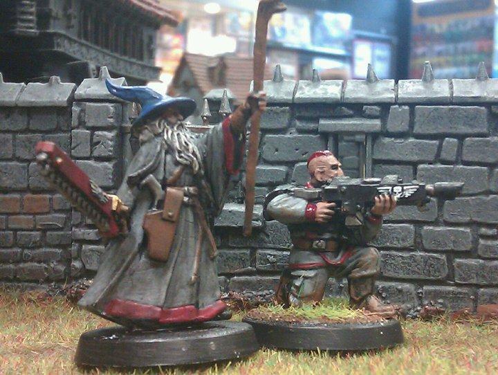 Gandalf The Grey, Imperial Guard, Kitbash