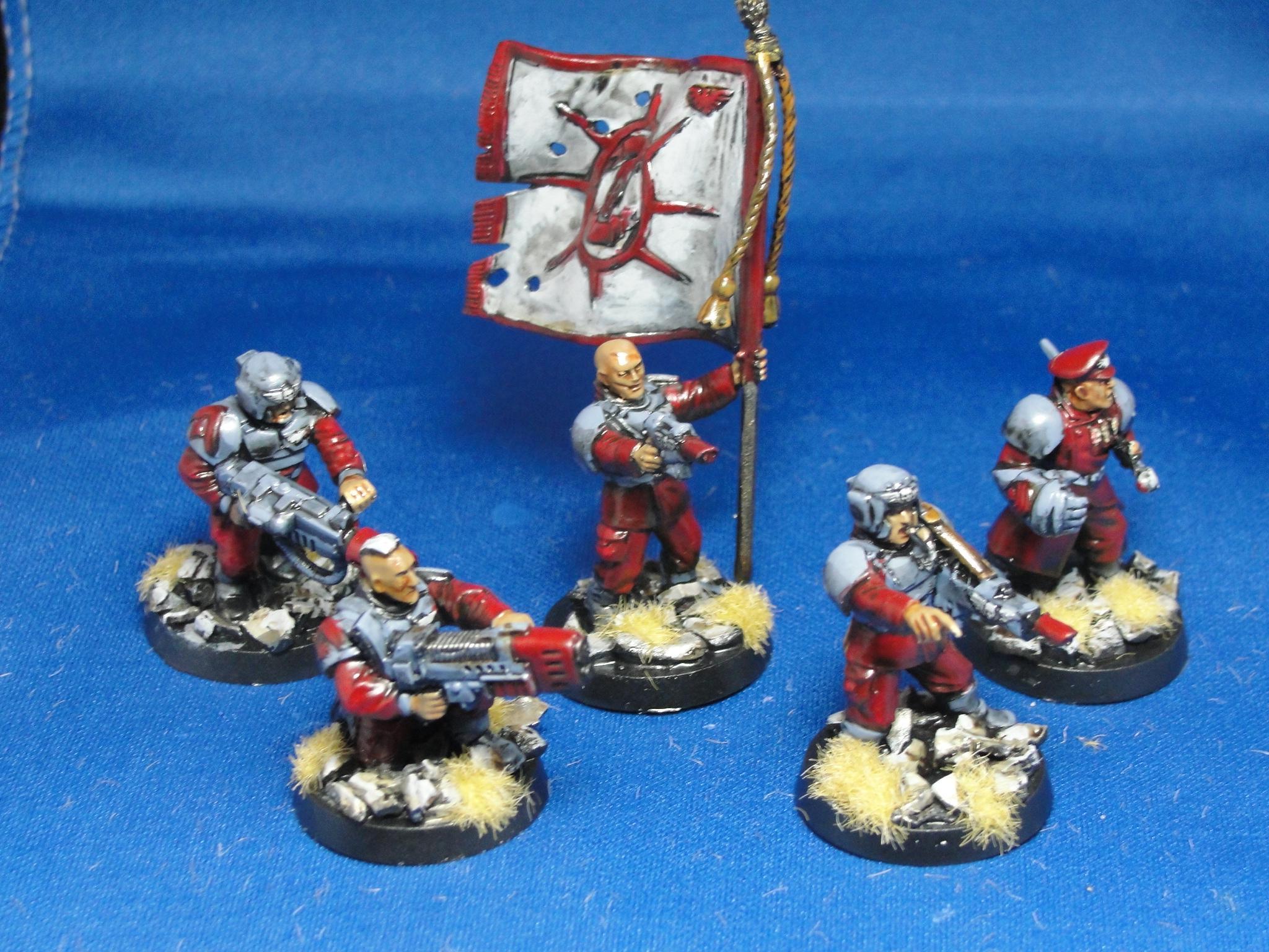 Warhammer 40k, Imperial Guard, Command Platoon