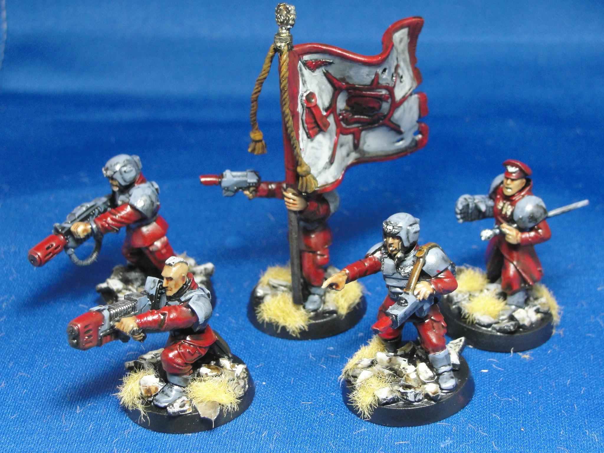 Warhammer 40k, Imperial Guard, Command Platoon