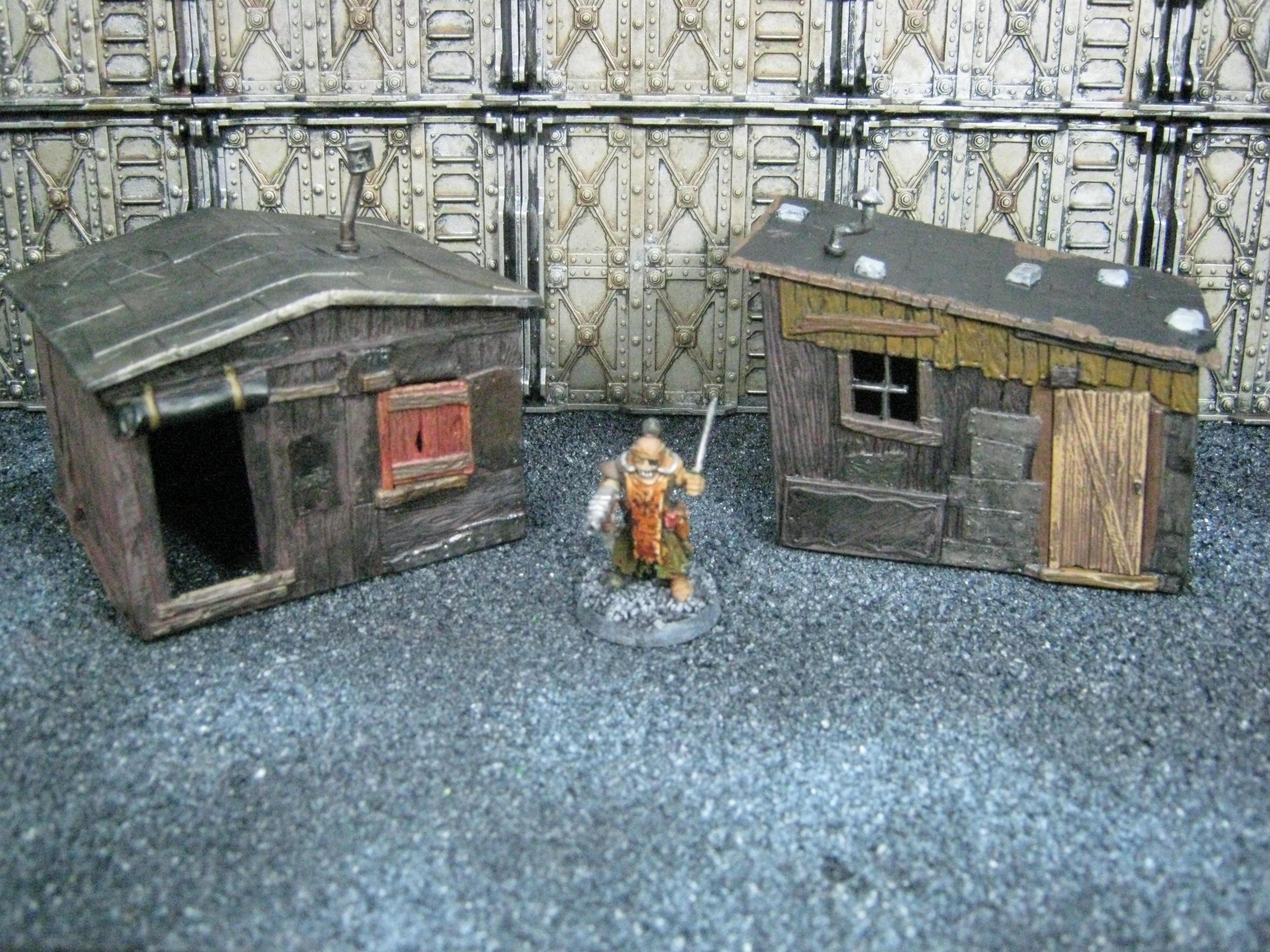 Necromunda, O Scale, Terrain, Warhammer 40,000