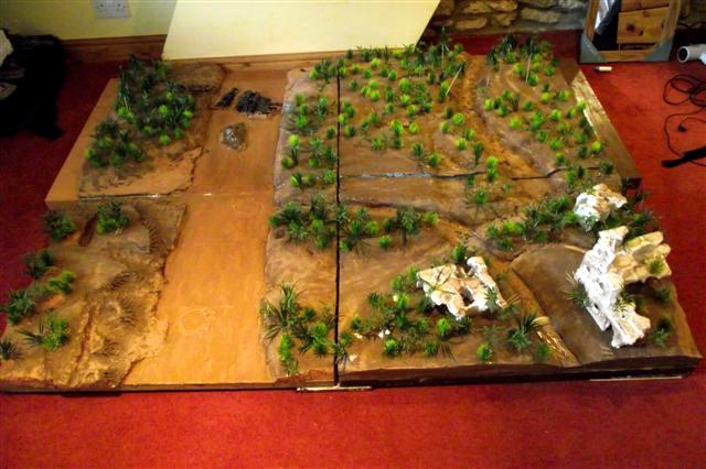 Batlle, Board, Gaming, Jungle, Jungle Terrian, Terrain, Warhammer 40,000, Warhammer Fantasy