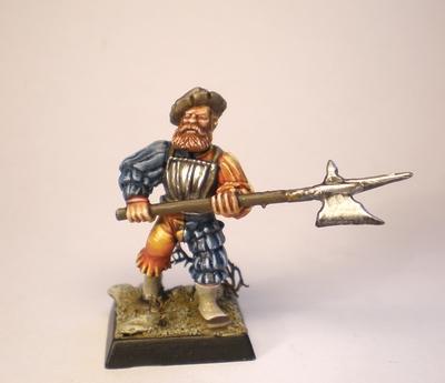 Hallebard, Medieval
