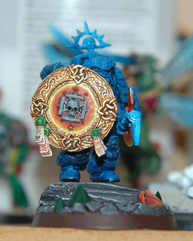 Mantis Warriors, Space Marines, Storm Shield, Terminator Librarian, Warhammer 40,000, Work In Progress