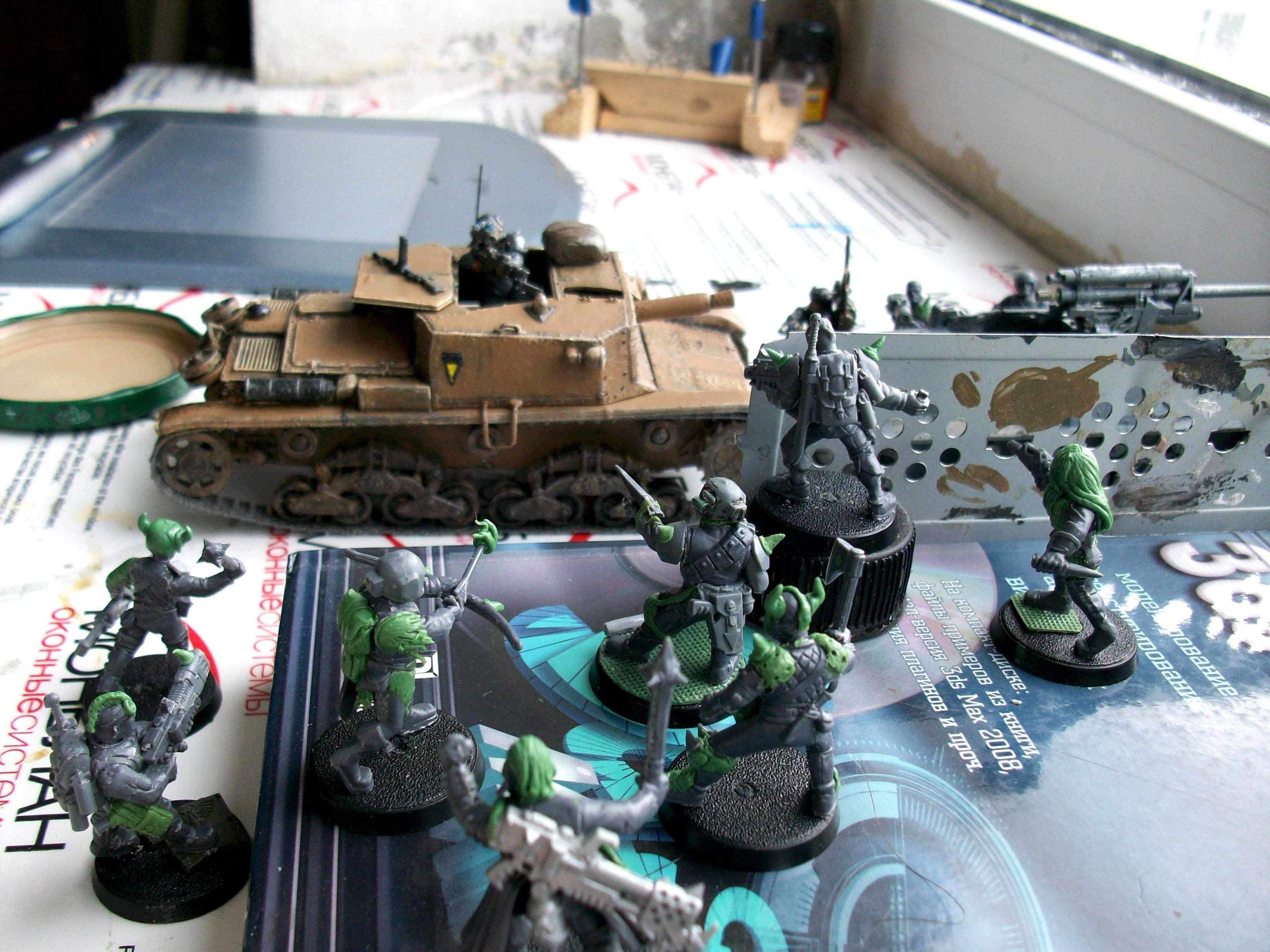 Heretic, Heretics, Imperial Guard, Lost And The Damned, Renegades, Vehicle
