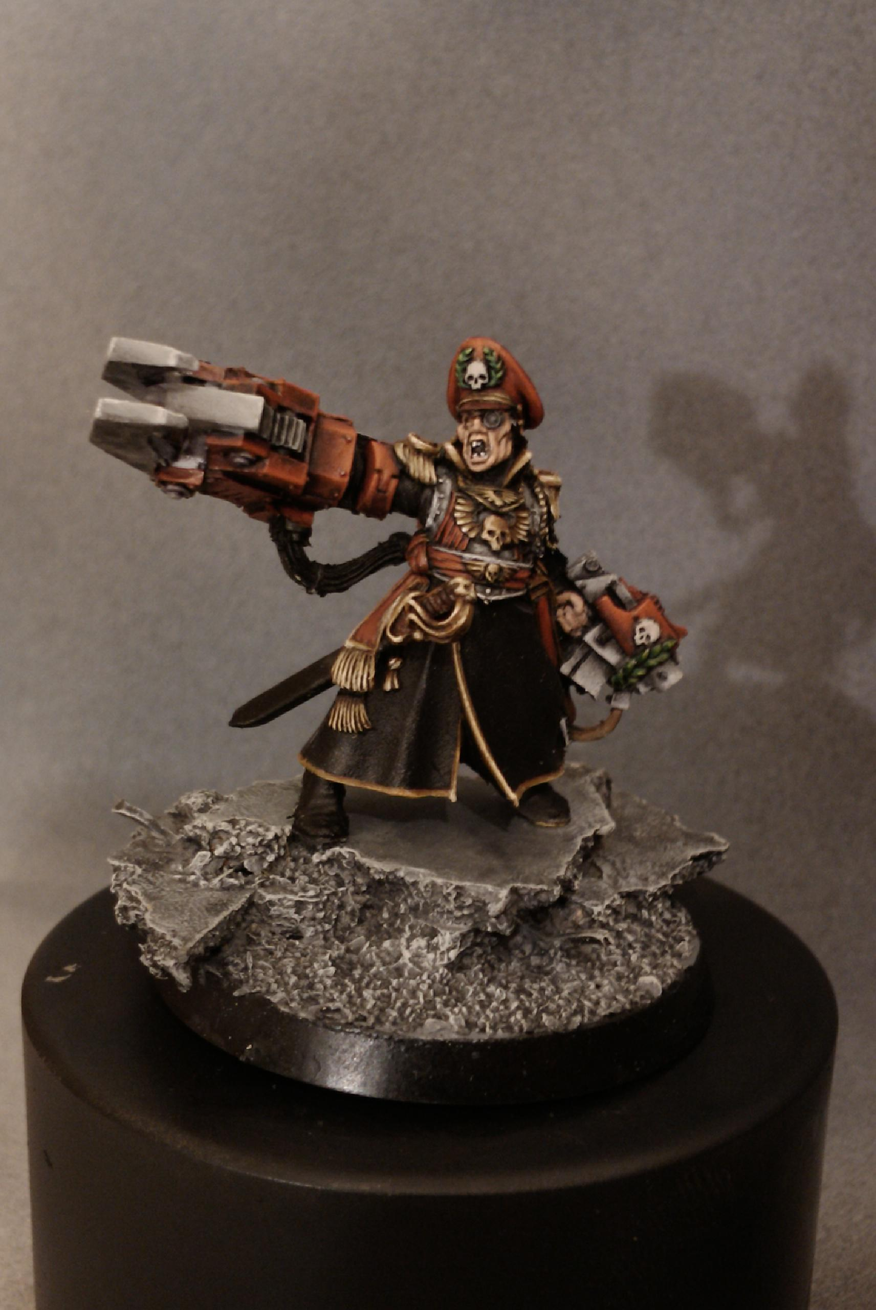 Armageddon, Character, Commisar Yarrick, Commissar, Games Workshop, Headquarters, Imperial Guard, Warhammer 40,000