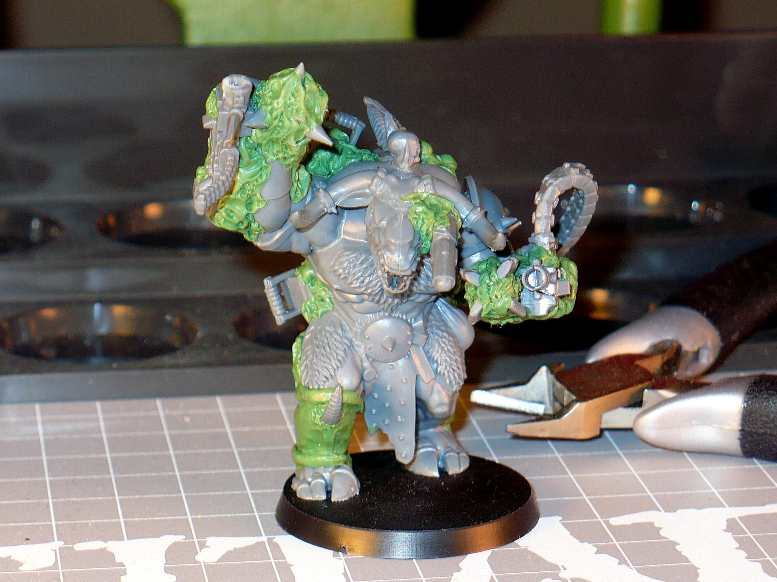 Conversion, Greenstuff, Nurgle, Warhammer 40,000