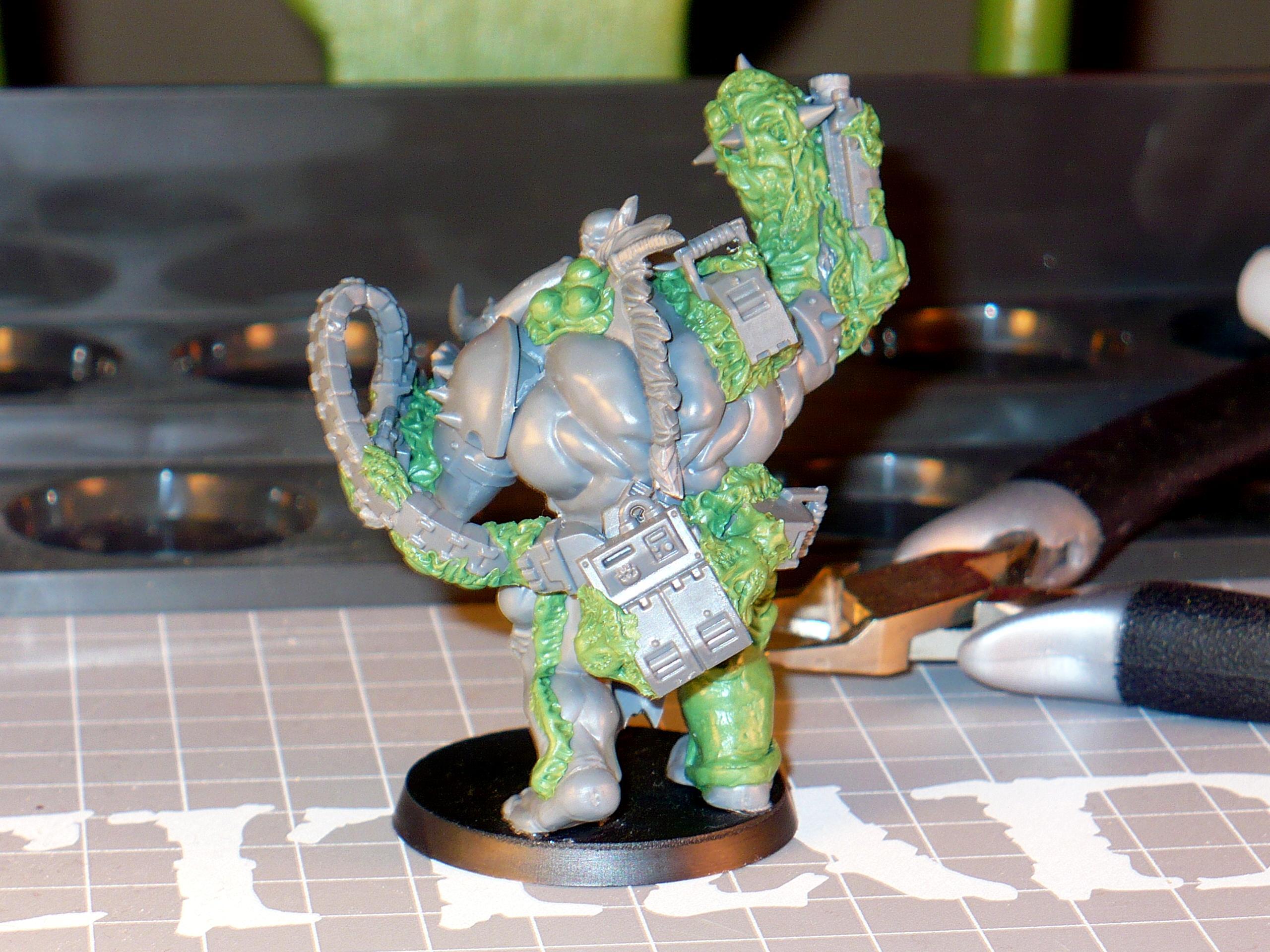 Conversion, Greenstuff, Nurgle, Warhammer 40,000