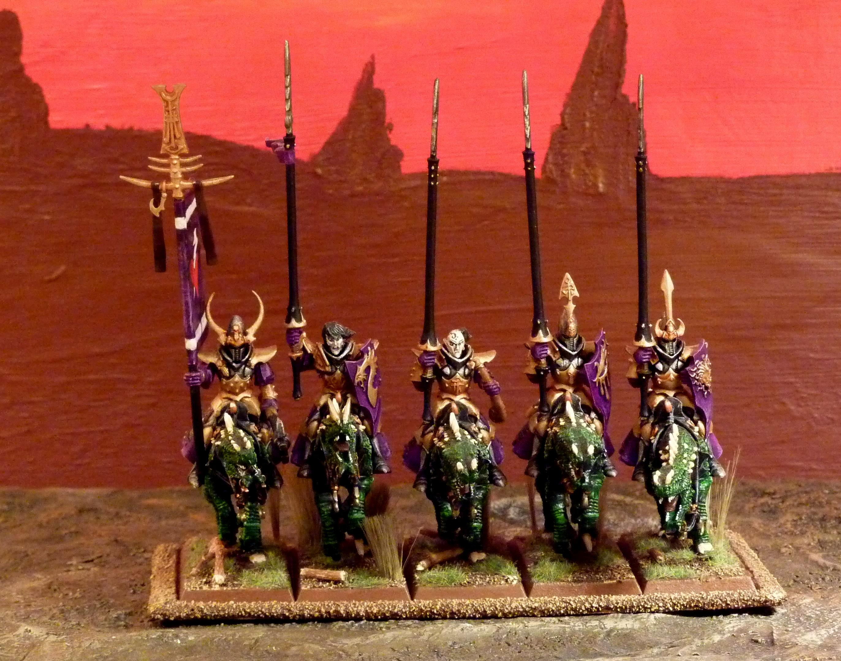 Dark Elf Riders, Dark Elf Riders