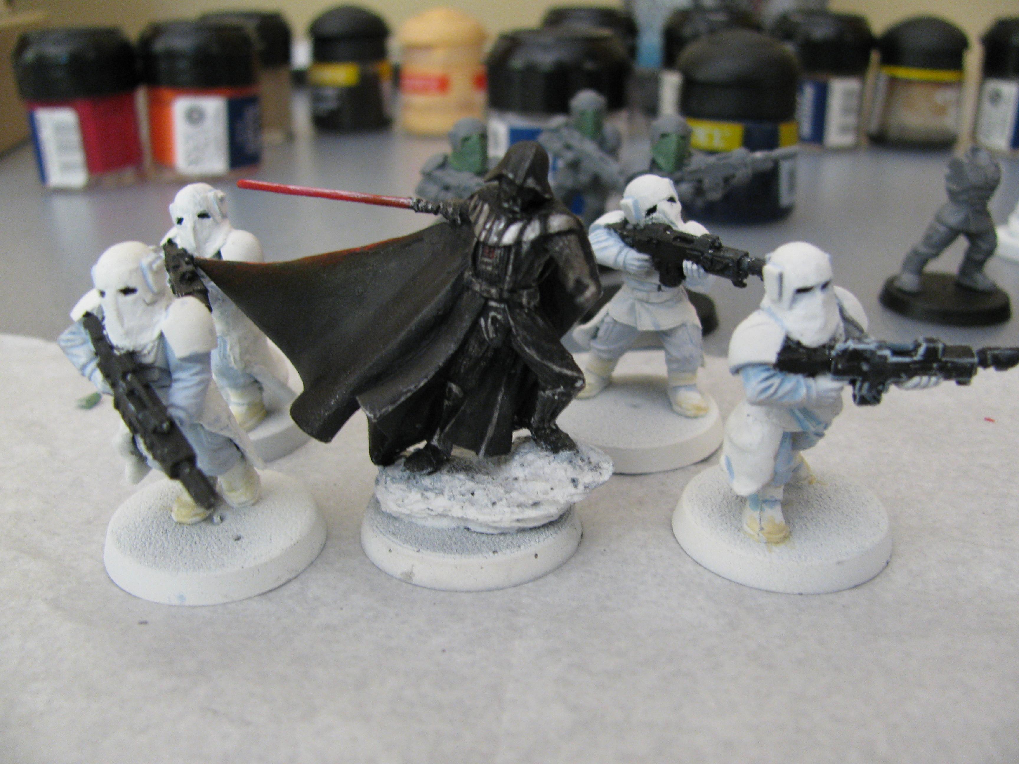 Cadians, Conversion, Darth Vader, Snow, Star Wars
