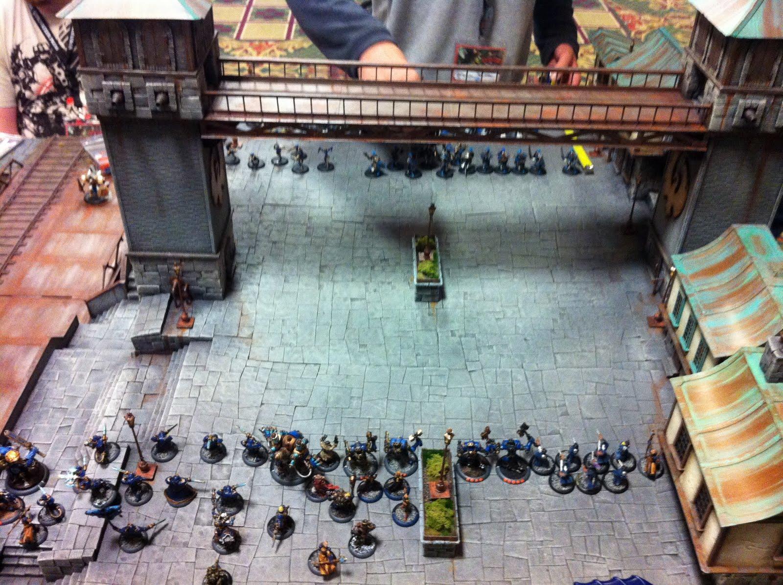 Battle Report, Cygnar, Warmachine