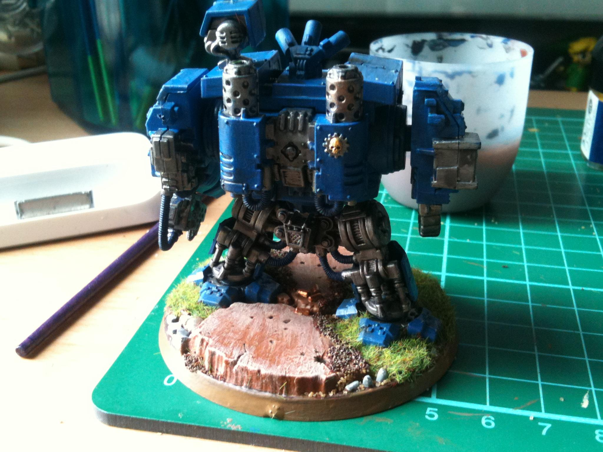 Dreadnought, Space Marines, Ultramarines