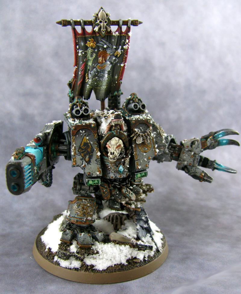 Bjorn, Dreadnought, Forge World Pieces, Space Marines, Space Wolves, Venerable