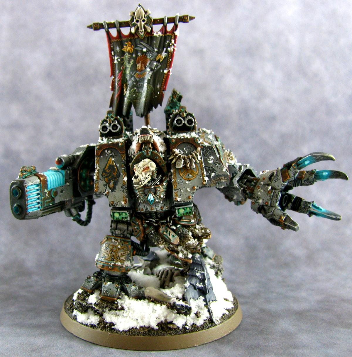 Bjorn, Dreadnought, Fell Hand, Space Marines, Space Wolves, Venerable, Warhammer 40,000