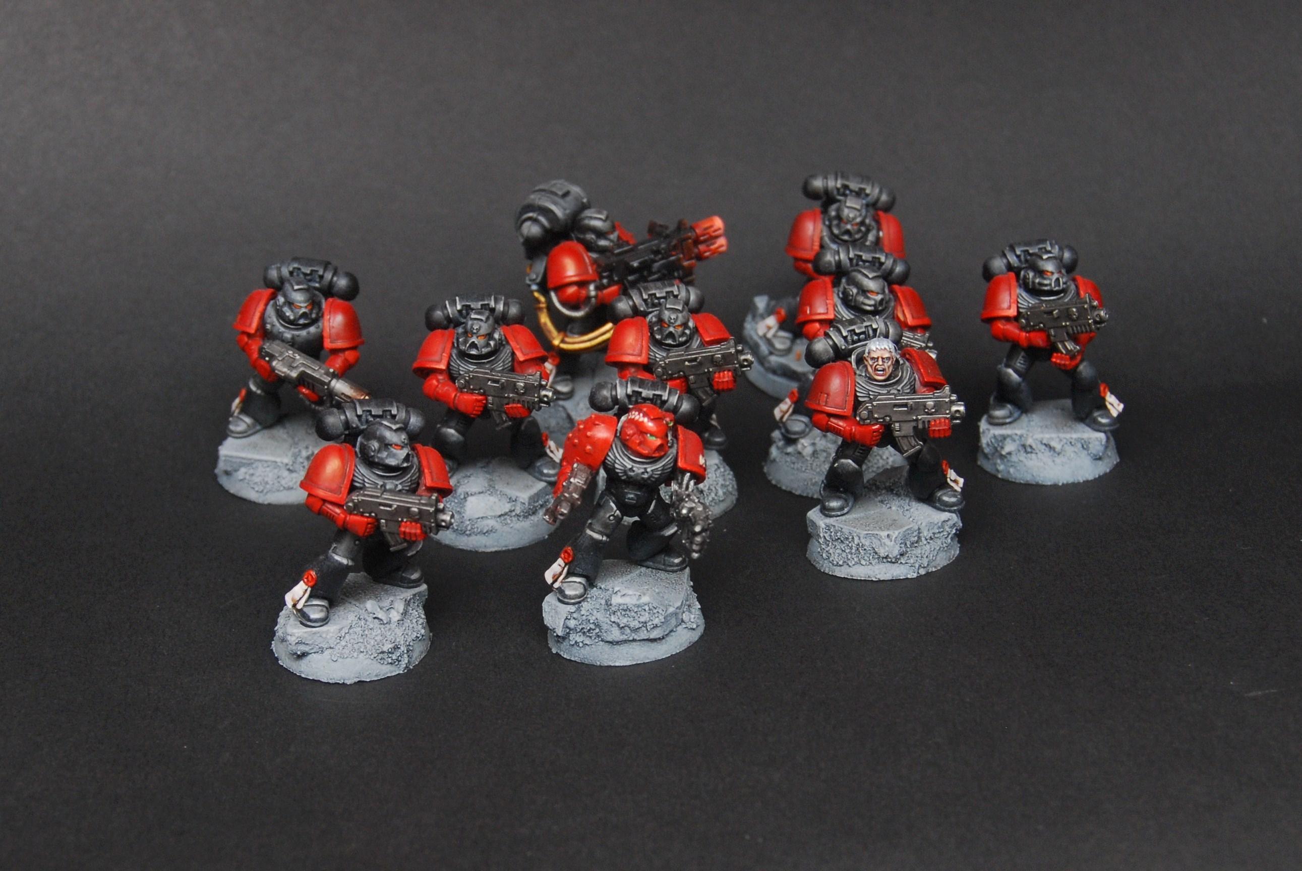 Marines Exemplar, marines exemplar tactical squad