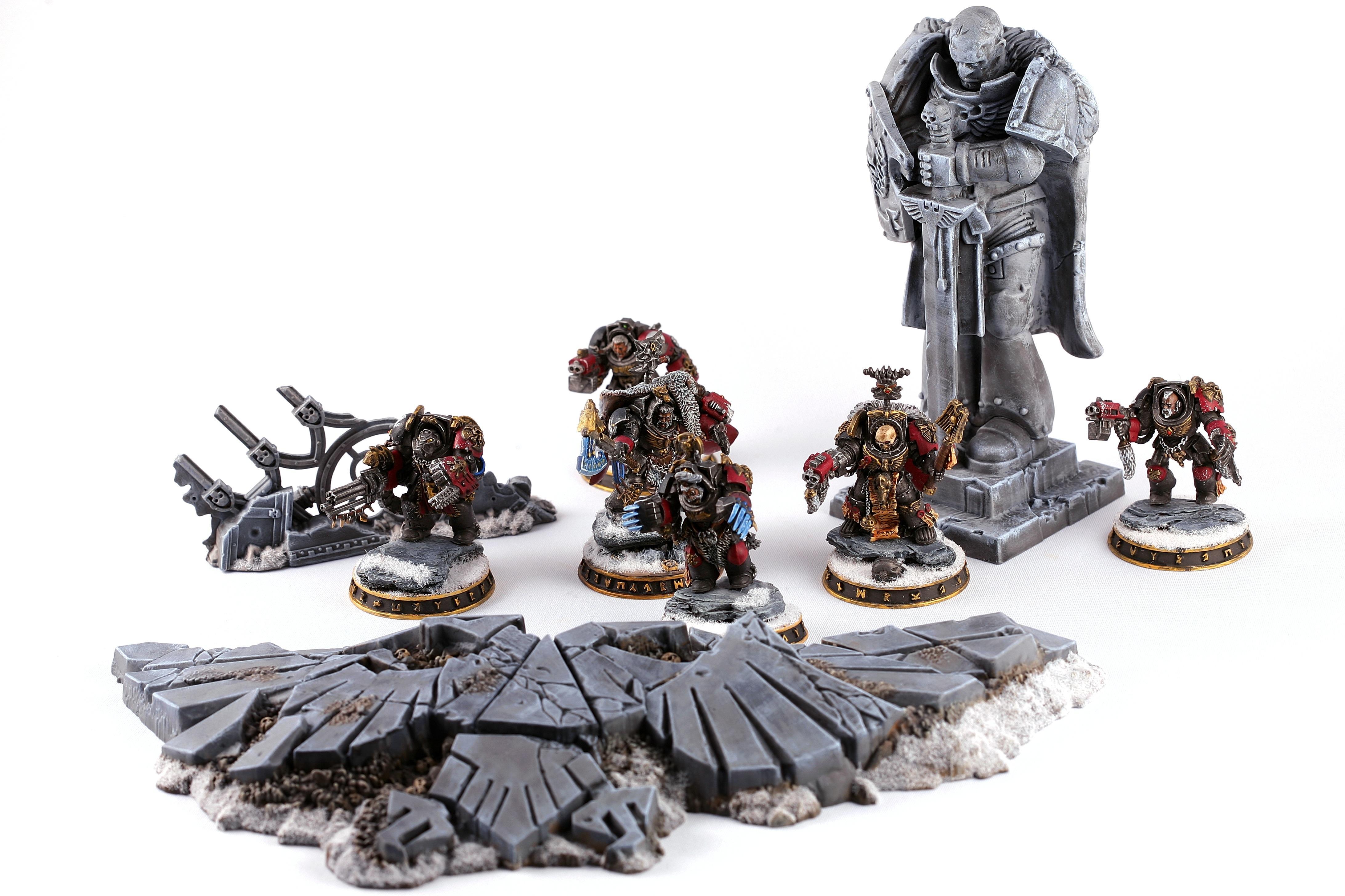 Chaplain, Space Wolves, Terminator Armor, Terminator Chaplain