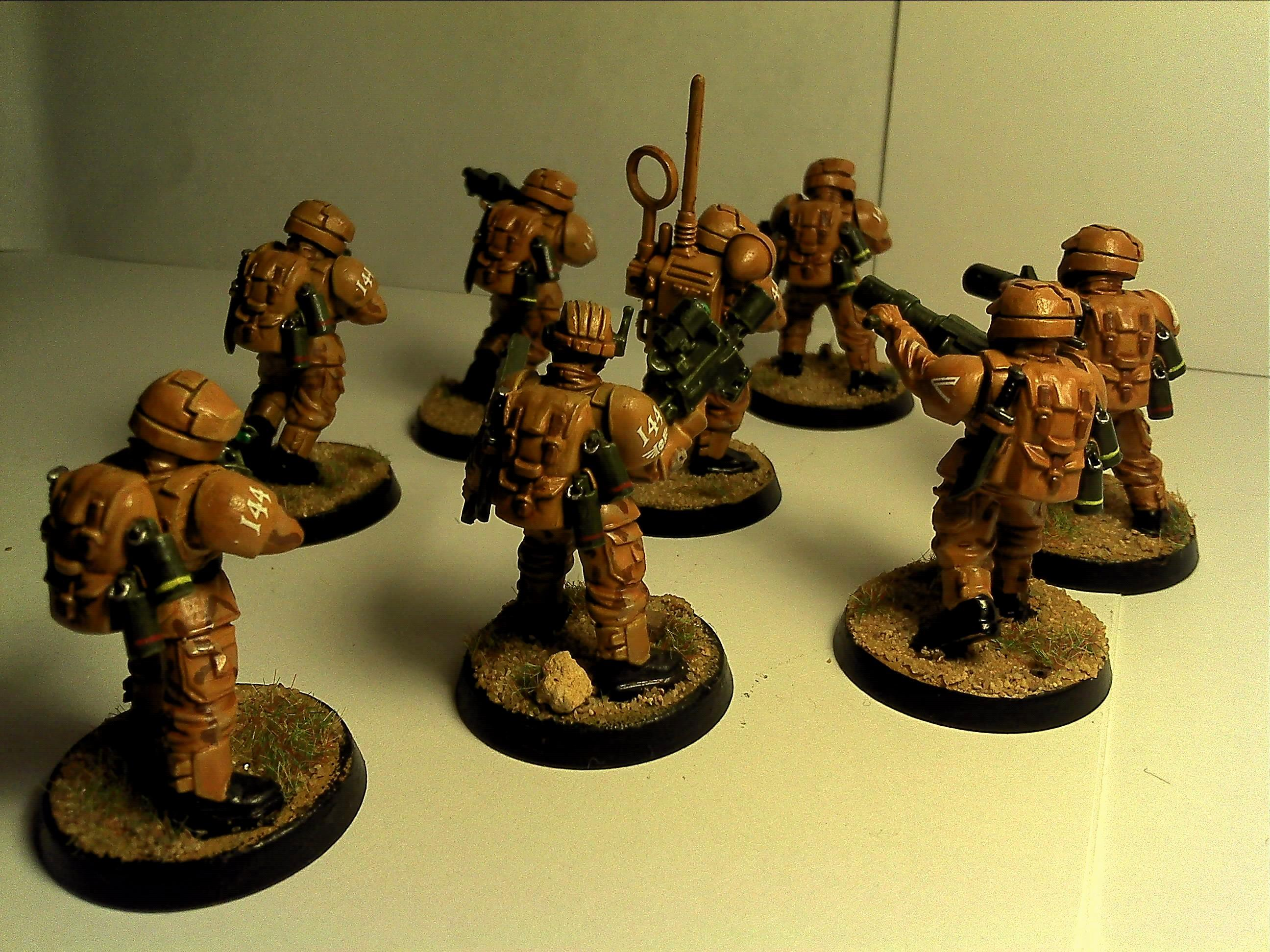Camouflage, Conversion, Desert, Halo, Imperial Guard, Meltagun, Veteran