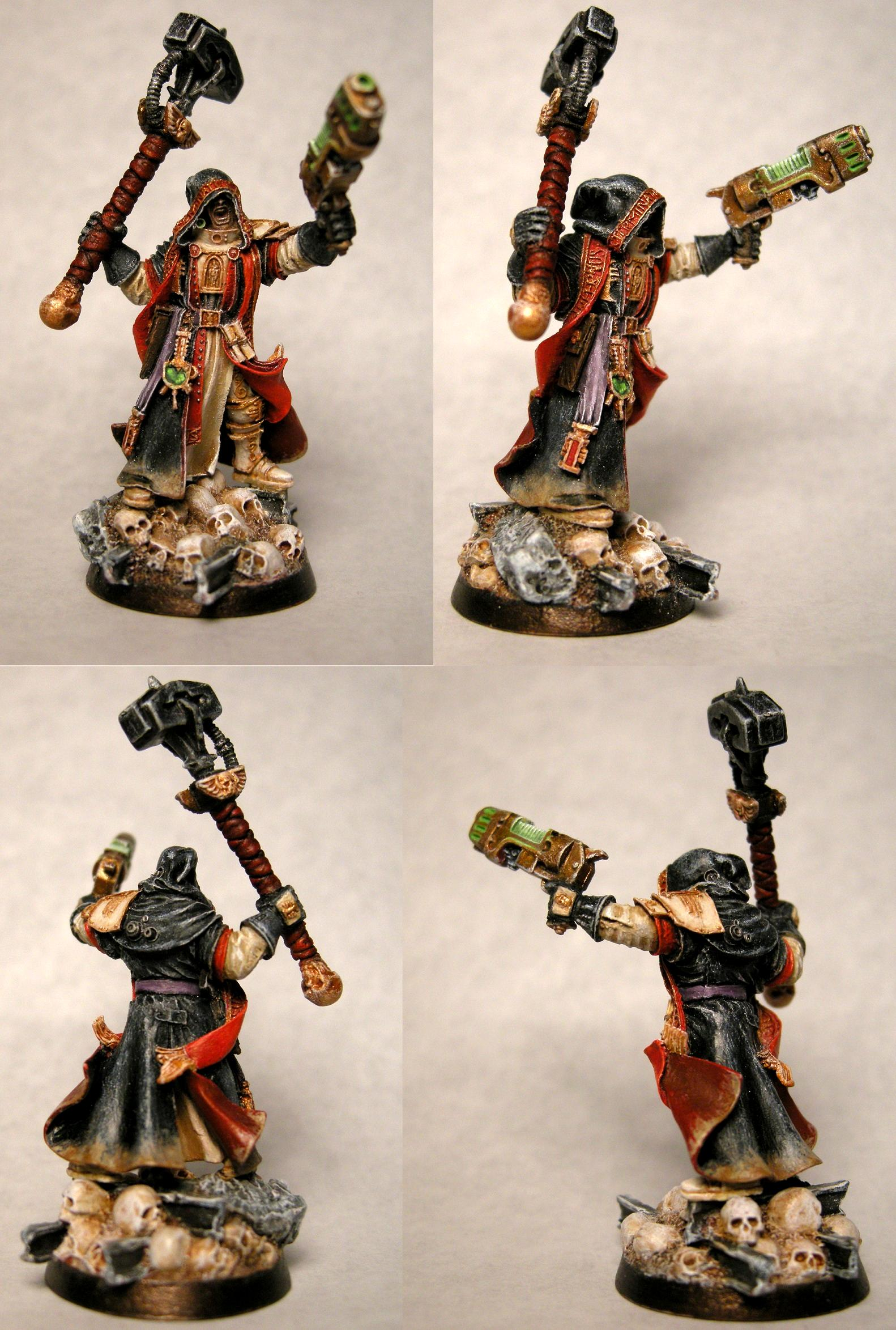 Conversion, Imperium, Inquisitor, Solomon Lok, Warhammer 40,000
