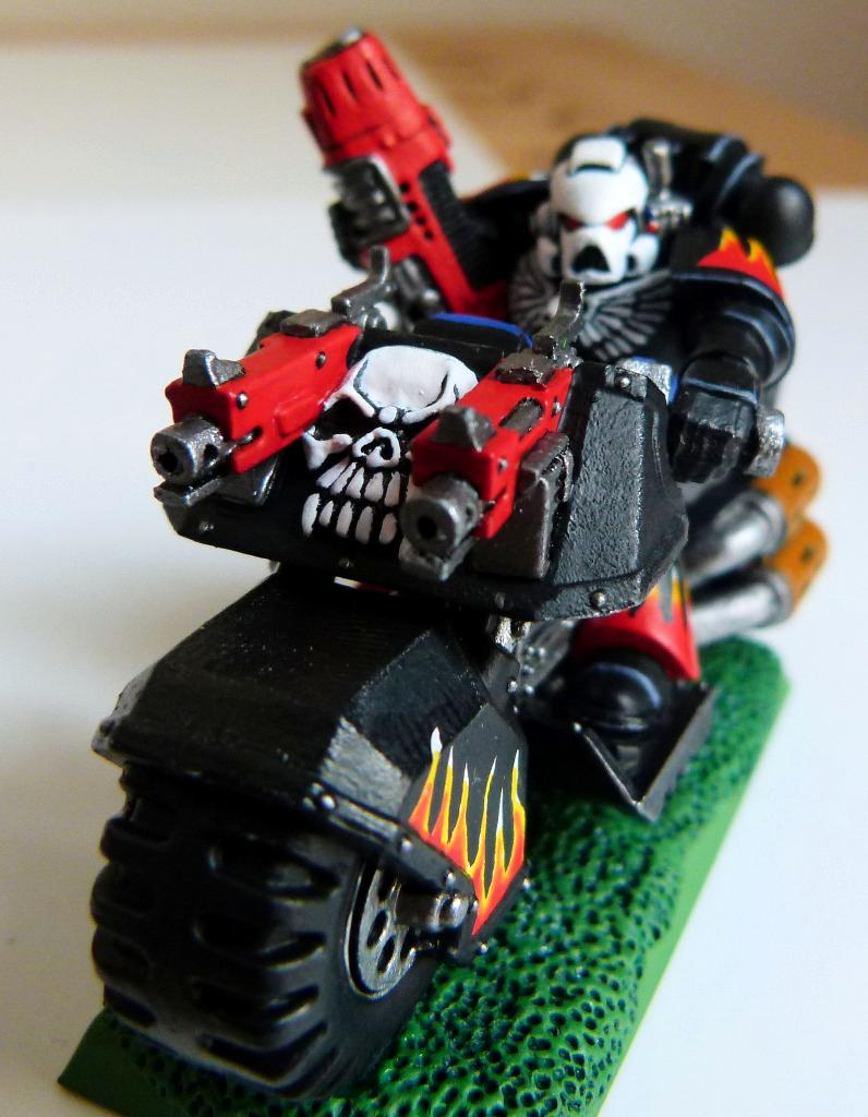 Bike, Legion Of The Damned, Space Marines