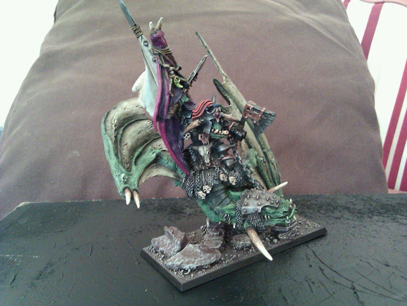 Azhag, Lord., Orcs, Skullmuncha, Warhammer Fantasy, Wyvern