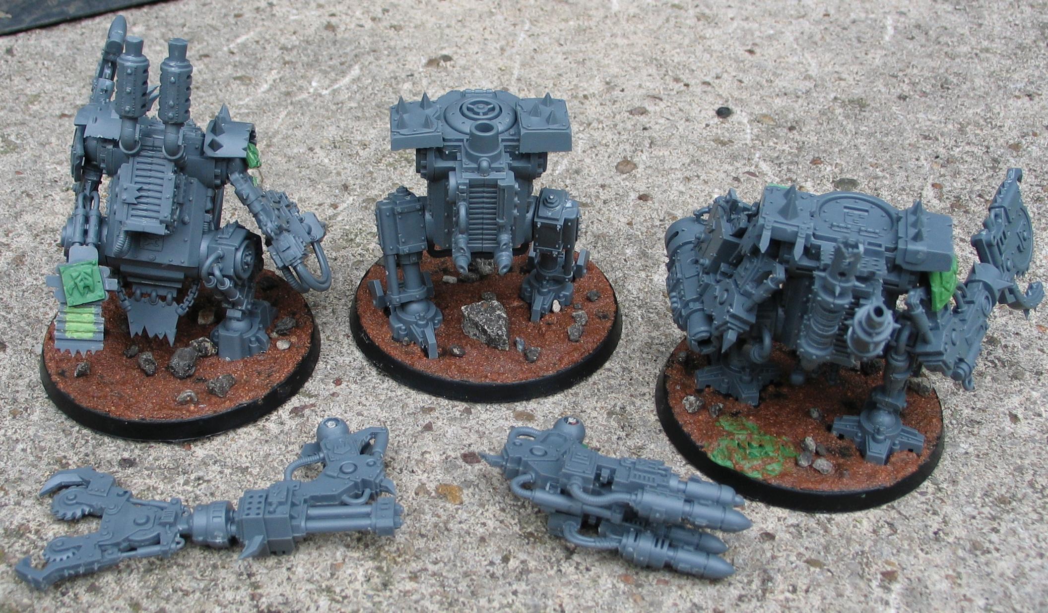 Killa Kans, Transformer, Work In Progress