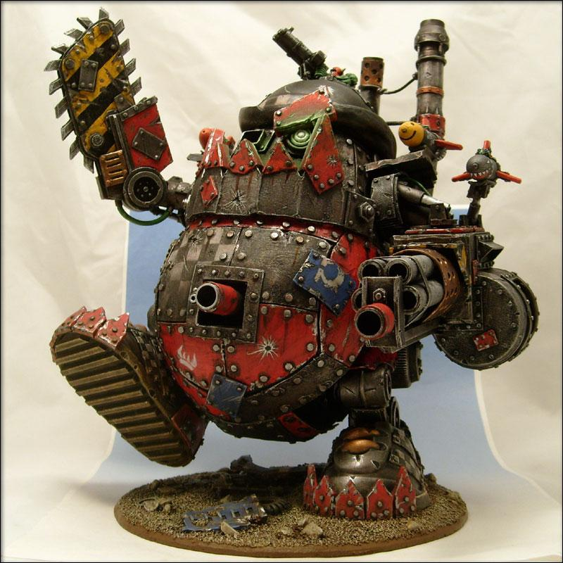 Conversion, Orks, Posting Someone Else's Work Without Giving Them Credit First, Reposting From The Internet, Stompa, Super-heavy