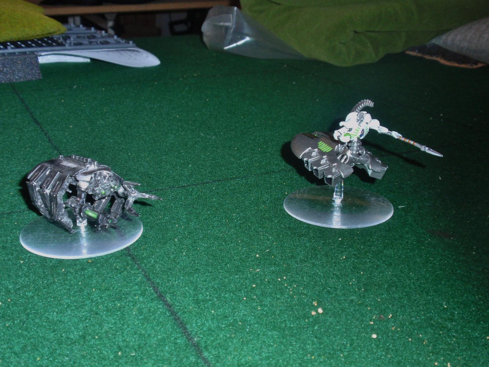 Iceman 40k, Necrons, Tomb spider and Destroyer Lord