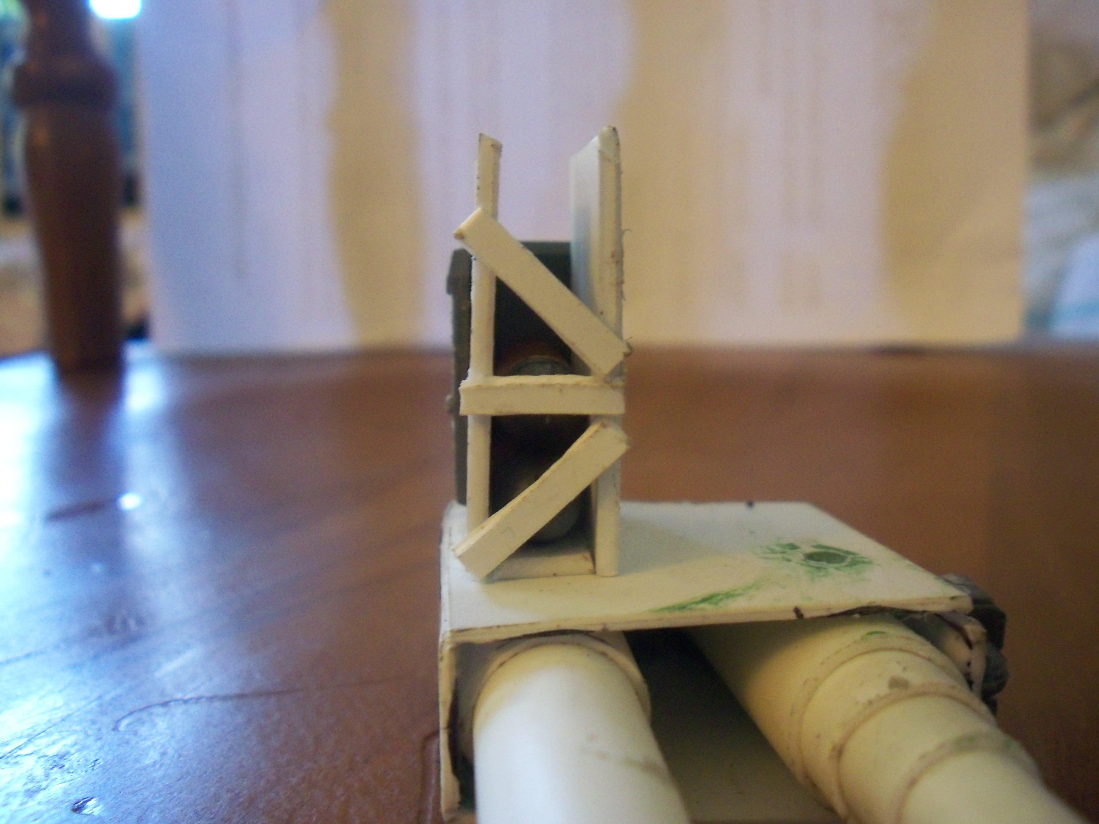 Ammo Hopper, Conversion, Orks, Plasticard, Turret