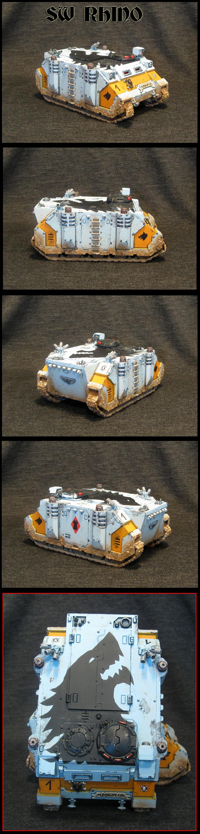 Rhino, Space Wolves, Space Wolves RHINO