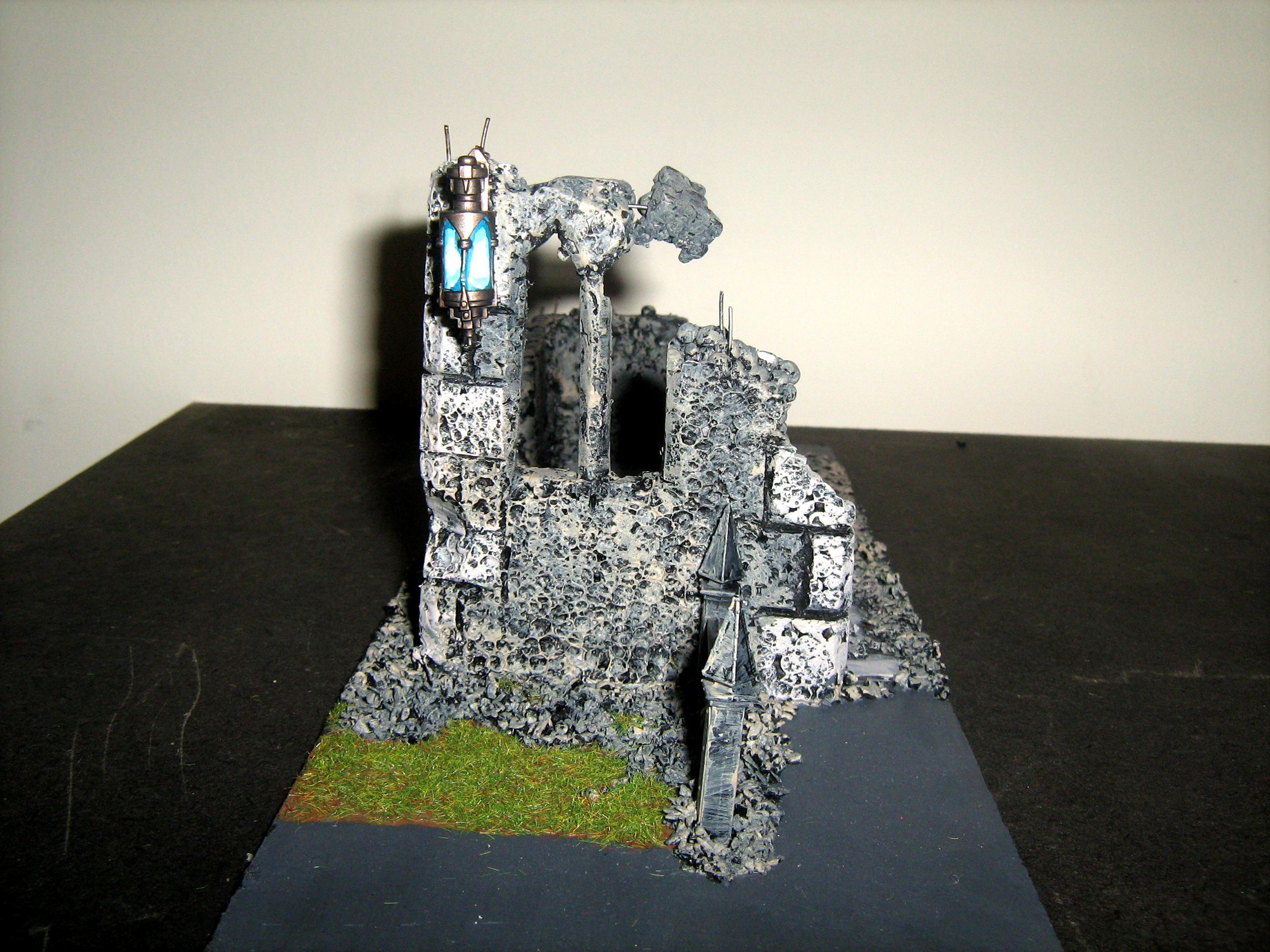 Cities Of Death, Ruin, Scatch Build, Scenary, Terrain, Warhammer 40,000