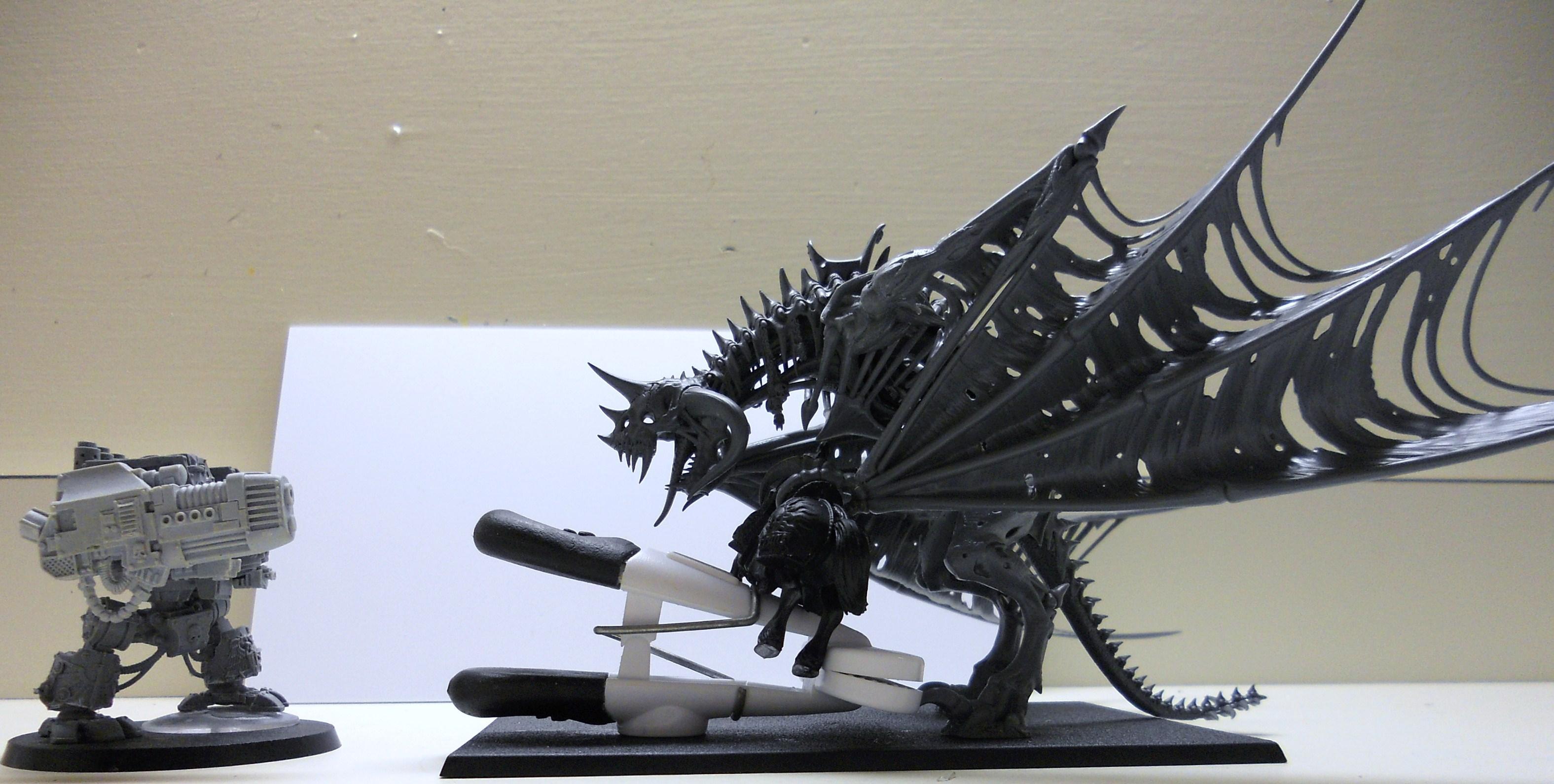 Zombie Dragon Comparison Shot for Silver